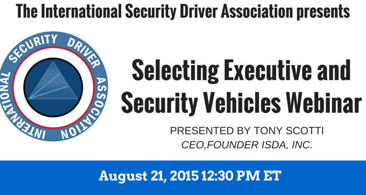 Selecting Executive Security Vehicles a